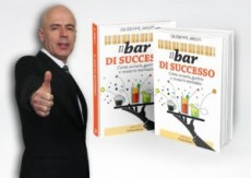"""Il 14 novembre in libreria """"Il Bar di successo""""  primo libro di Giuseppe Arditi"""